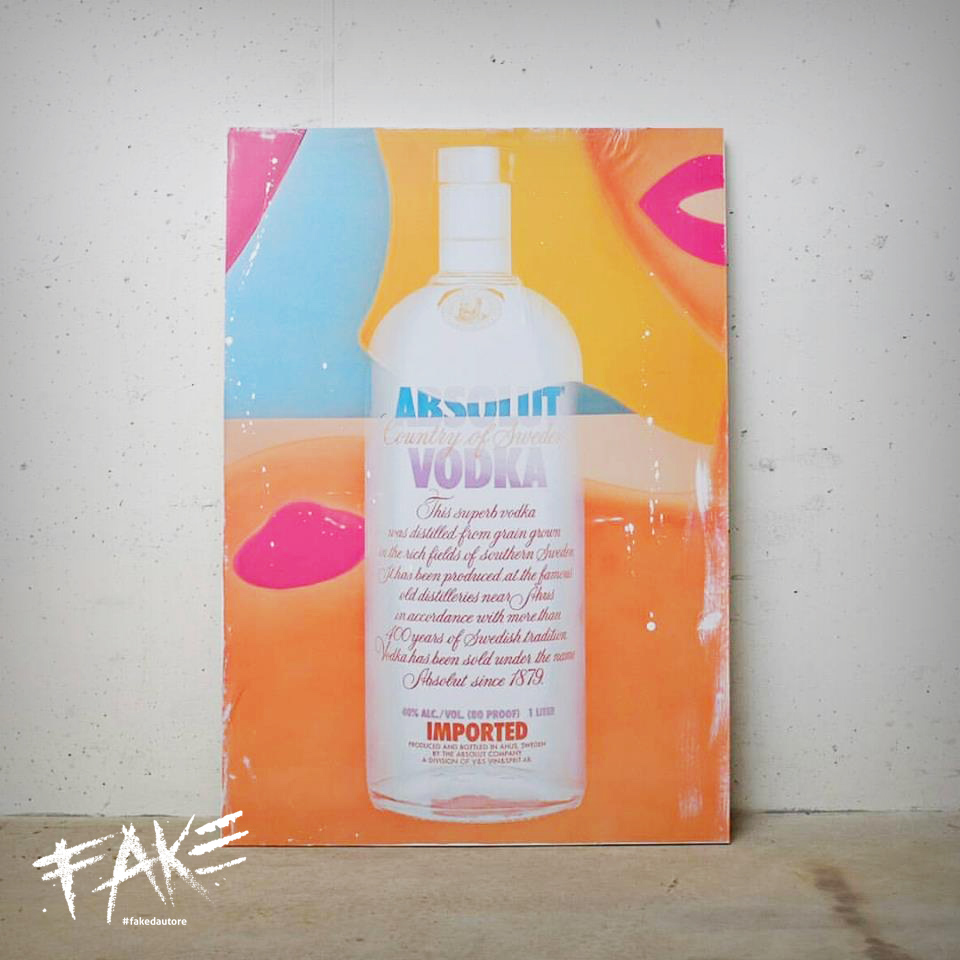 fakedautore ABSOLUTE VODKA